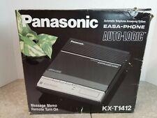 PANASONIC KX-T1412 STANDARD CASSETTE TAPE ANSWERING MACHINE