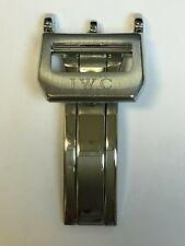 Boucle déployante pour bracelet de montre IWC argent 18 mm