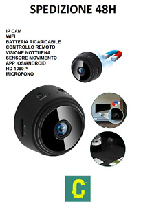 mini telecamera spy cam WiFi wireless IP nascosta full HD 1080P visore ir