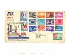 Singapore FDC Sept 4,1955 Sc#28 to 42-minor cover faults