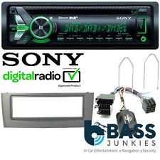 Fiat Grande Punto 2005 On Sony DAB CD MP3 USB AUX & Bluetooth SWC Car Radio Kit