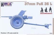 MAC DISTRIBUTION 72112 1/72 37mm PaK 36 L