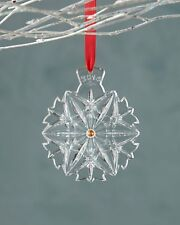 Waterford Snowflake Wishes Christmas ornament 2014 NEW in Box