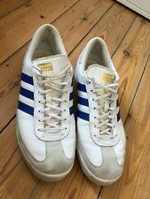 Adidas Beckenbauer White Trainers UK12  EU47.5 - Good Used