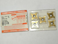 """5 new MANCHESTER 571-175-36 M40 Carbide Inserts Groovidex 4XR 088NG Od/Id .088"""""""