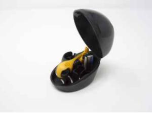 Headblade Set Moto Rasierer & Helmet Aufbewahrungsbox Nassrasierer Kopfrasur