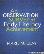 An Observation Survey of Early Literacy Achievement, Third Edition by Marie Clay (Paperback / softback, 2013)