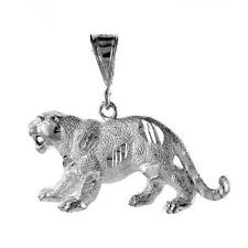 6.8 gram Sterling Silver Panther Large Pendant