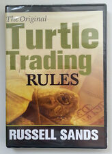 *RARE* THE ORIGINAL TURTLE TRADING RULE by Russell Sands * Stock Trading DVD *