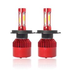 Pair H4 Hi/Lo Beam CREE LED Headlight Kit Bulb 6500K 180000LM 120W 9003 HB2