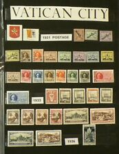 1931 to 1960 Vatican Lot of 209 Mint & Cancelled Stamps #6734