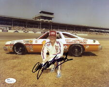 CALE YARBOROUGH HAND SIGNED 8x10 COLOR PHOTO+JSA        NASCAR LEGEND