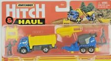 2021 Matchbox Die Cast Hitch & Haul MBX Construction Set with Cement Mixer