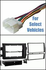 Suzuki SX4 Car Stereo Radio Install Mount Dash Trim Kit + Wire Harness Combo