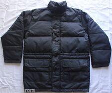 Men's Original Classics Banana Republic Down Parka Black Puffy Jacket Coat Sz M