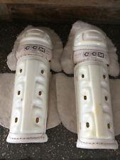 """Vintage Old School Ccm Hockey Knee Pads Great For Floor Hockey 16.5"""""""