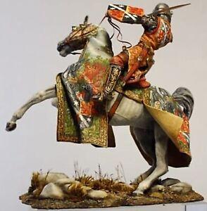 Tin toy soldier 90 mm.Superb Elite Luxury painting in St.Petersburg.Medieval