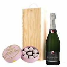 Chassenay d'Arce Brut & Pink Charbonnel Chocolates Box