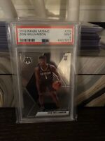 2019 Panini Mosaic #209 Zion Williamson Pelicans RC Rookie PSA 9 MINT