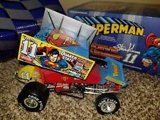 STEVE KINSER #11 SUPERMAN 1999 ACTION 1/18 Sprint Diecast Car AUTOGRAPHED