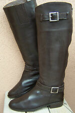 MATISSE Womens Boots Equestrian Style Fashion Knee High Brown Leather Size 6M