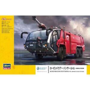 Hasegawa 52286 1/72 Rosebauer Panther 6x6 Airport Crash Tender World Panther Pla