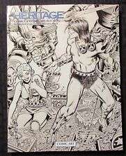 2016 Nov 17-19 HERITAGE Comics & Comic Art Auction Catalog FVF 7.0 Conan BWS