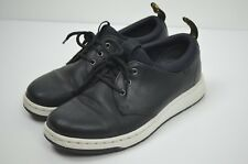 Dr. Martens Black White Leather Solaris lace Up Shoes Sneakers Size 4m