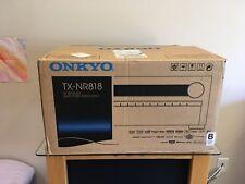 Onkyo TX-NR818 7.2 Channel Network Home Theater THX Reciever