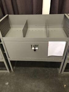 Van Shelving Storage With Door and Lock   108X92cm