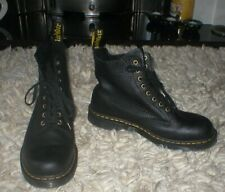 dr marten 1460 boots BLACK sz 10 - MINT !!!
