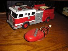 "Nice 8"" Long Toymax Fire Engine Pumper Truck With Lights & Noises Free Shipping"