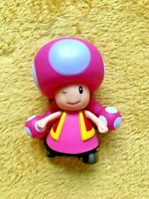 """Super Mario 5"""" Action Figure - Toadette - NEW & SEALED"""
