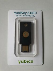 YubiKey 5 NFC 2-factor Authentication Device