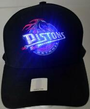 NBA Detroit Pistons Fiber Optic Hat,Cap,Adjustable,New,Led,Blue,Pistons Logo