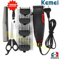 Tondeuse à cheveux électrique filaire sur secteur avec fil performante coiffeur