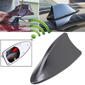 Gray Shark Fin Style Car Roof Antenna Aerial FM/AM Radio Signal Auto Decor Kit