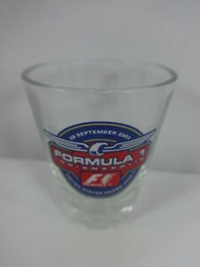 2003 Formula-1 United States Grand Prix Event Collector Shot Glass IMS Ferrari