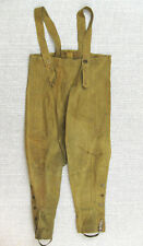 BRITISH ARMY WW2 DISPATCH RIDER PANTS TROUSERS CHAPS WATERPROOF 1943 MC