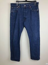 Mens Levi Strauss & Co 501 34x30 Blue Jeans