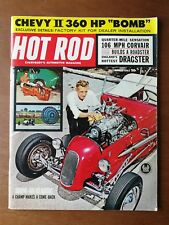 Hot Rod Magazine March 1962 - Chevy II - Corvair Dragster - HRM XR-6 - IXG Ghia