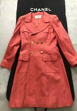 """Magnifique Manteau en cuir  """" Chanel """""""