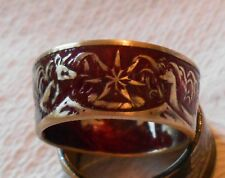 SILVER Coin Ring HANDMADE from an 1966 Australian 50 Cent Coin. 80% Silver.