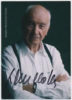 Armin Mueller-Stahl - hand signed Autograph Autogramm - Autogrammkarte