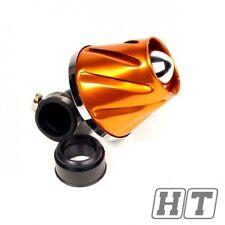 Luftfilter STR8 Helix orange eloxiert (38 / 28mm)