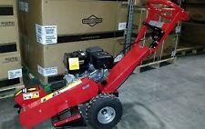 "New Stump Grinder 15HP Gas Walk Behind 420cc 3600 RPM 12"" Cutting Wheel Wood"