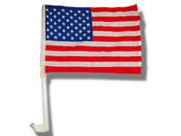 USA American Stars and Stripes Car Flag FLAGS CAR WINDOW (13 x 9.25 x 17.5)