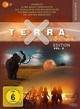 Terra X - Edition Vol. 8 Mammuts/Evolution/Die ersten Menschen NEU OVP 3 DVDs