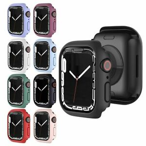 New Shell Protector Bumper PC Case Cover Protective For Apple Watch Series 7
