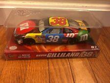 Winners Circle NASCAR #38 DAVID GILLILAND M&M Ford Fusion 1:24 DIE CAST CAR NIP